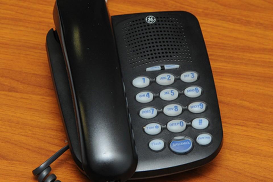 Телефонные звонки будут принимать только по будням и в рабочее время.
