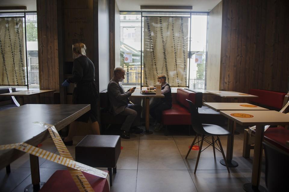 Ресторанам нельзя будет работать с 23:00 до 06:00