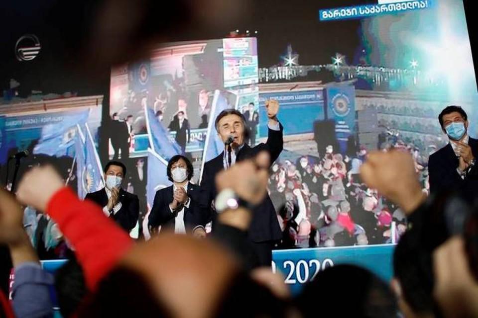 Лидер правящей партии «Грузинская мечта» Бидзина Иванишвили. Фото: Давид Мдзинаришвили/ТАСС