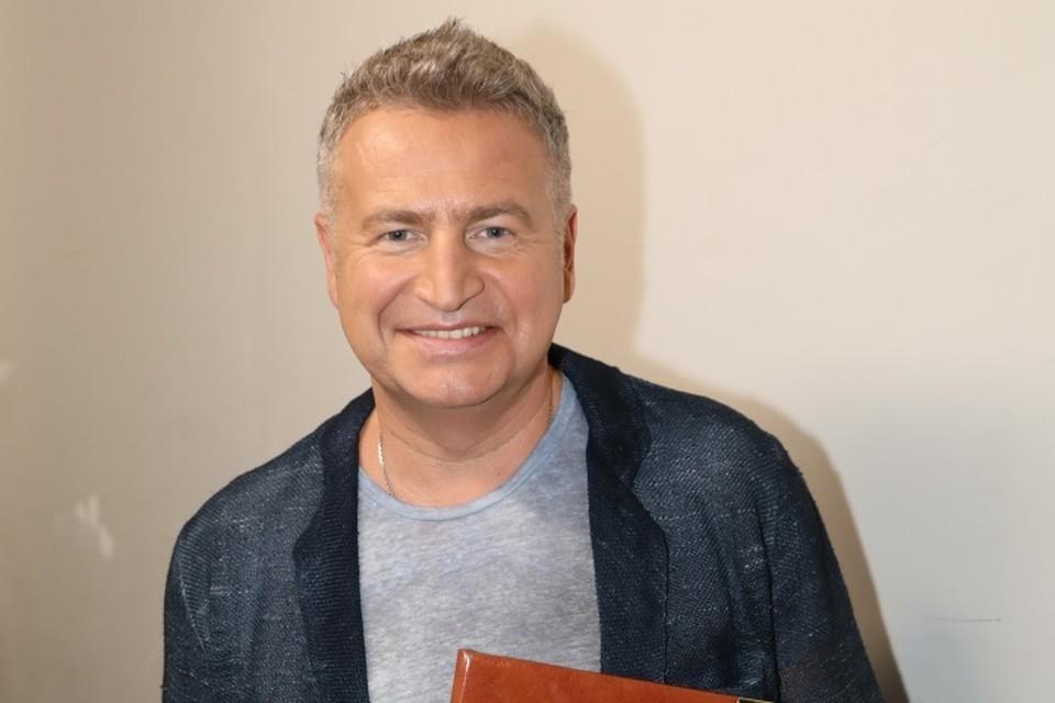 Российский певец и композитор Леонид Агутин