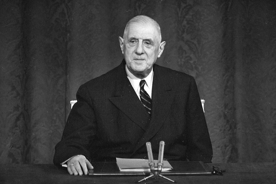Исполнилось 130 лет с рождения президента Франции Шарля Де Голля