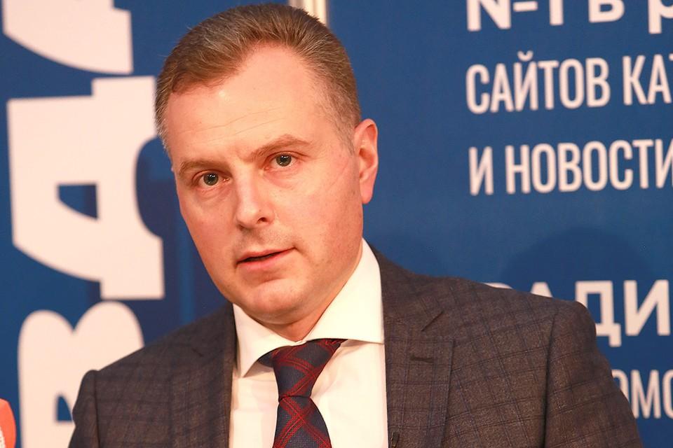 Старший вице-президент ВЭБ.РФ Сергей Евдокимов.