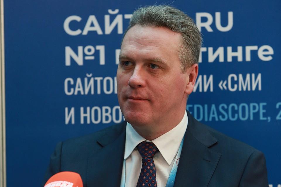 Генеральный директор ФАУ РОСДОРНИИ Алексей Варятченко.
