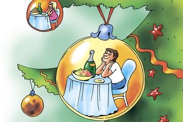 Вопрос дня: Где сейчас идеальное место для встречи Нового года?
