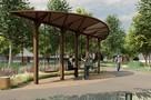 В челябинском саду имени Пушкина появятся новые лавочки и общественный туалет