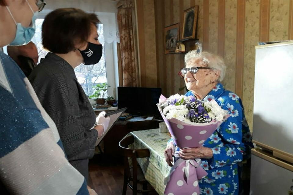 Ярославна Клавдия Гадючкина отпраздновала 111-ый день рождения. ФОТО: со страницы Екатерины Мусиновой ВКонтакте