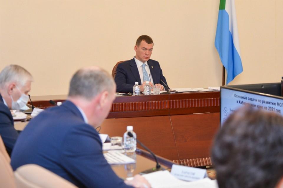 В Хабаровском крае увеличили финансирование ТОС