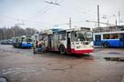 В Брянске от коронавируса обработали 70 троллейбусов