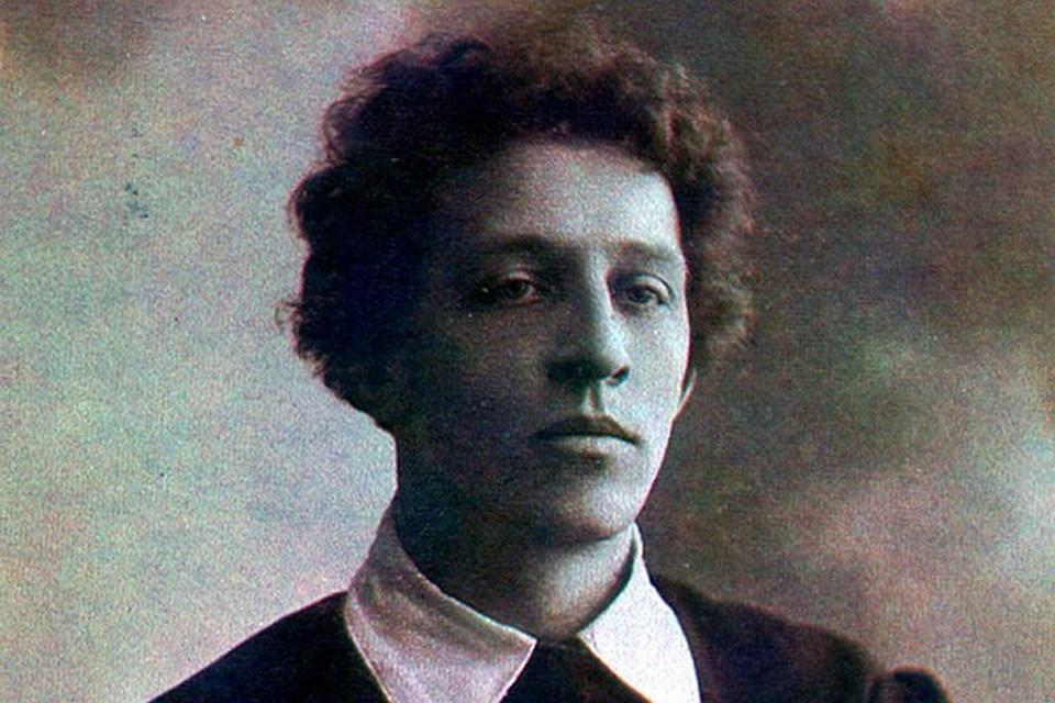 Юный Блок. 1907 год.