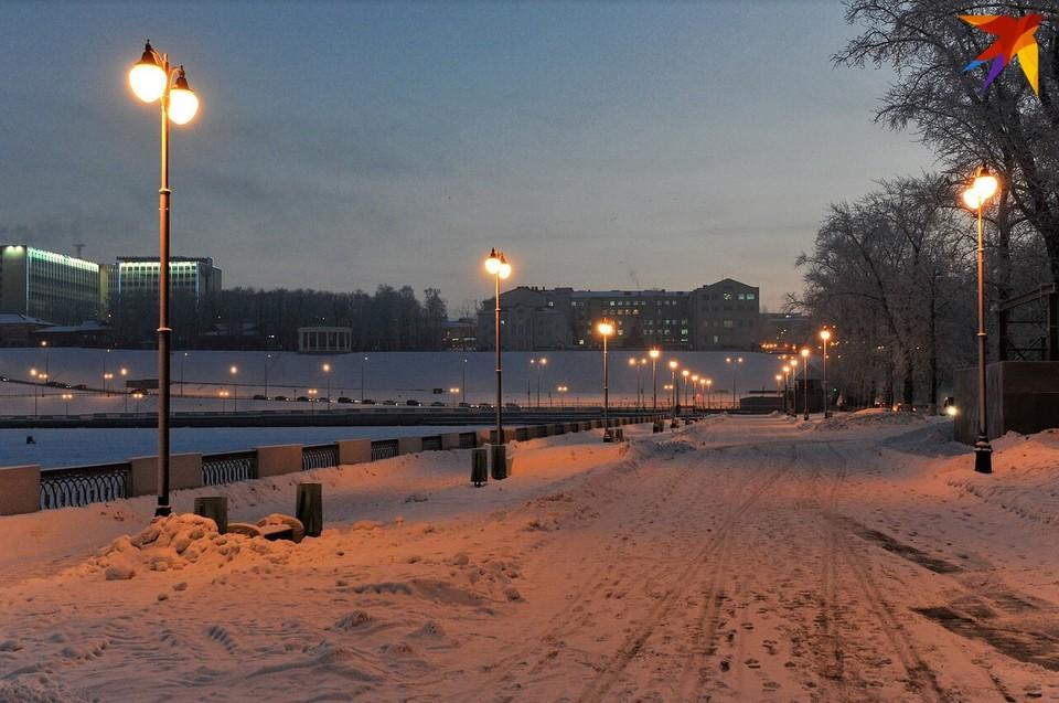 Погода в Ижевске: облачно и практически без ветра