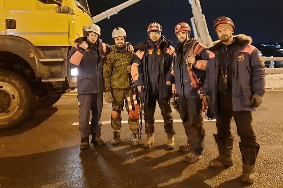 Приморцы благодарят спасателей за их работу. Фото:@yurokost.