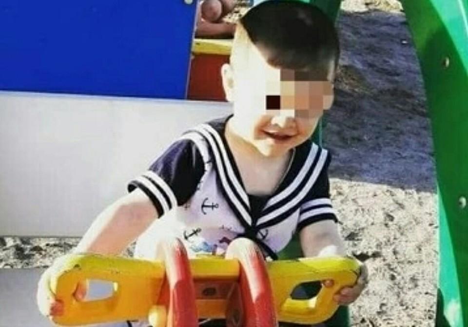 Трагедия случилась с этим 3-летним мальчиком. Фото: Олеся Григорьева (Facebook)