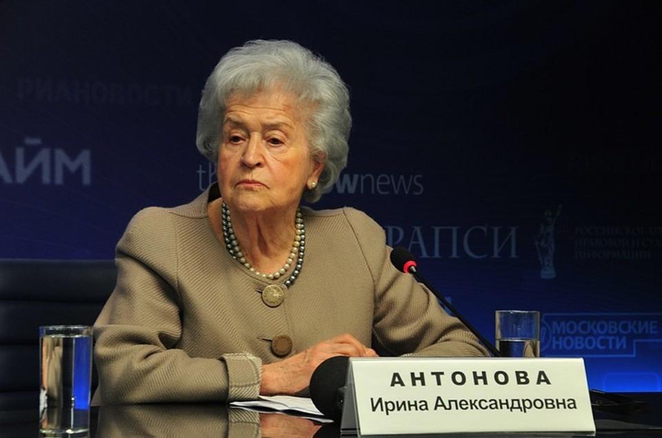 Коллеги вспомнили, какой была президент Пушкинского музея Ирина Антонова