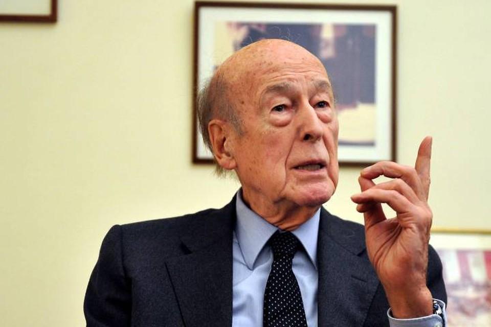 Экс-президент Франции Жискар д'Эстен