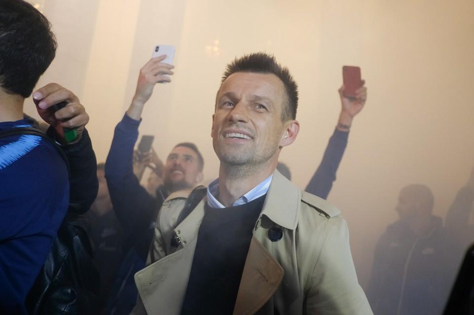 """Сергей Семак приводил """"Зенит"""" к чемпионству в России, но в Европе пока результаты плачевны."""