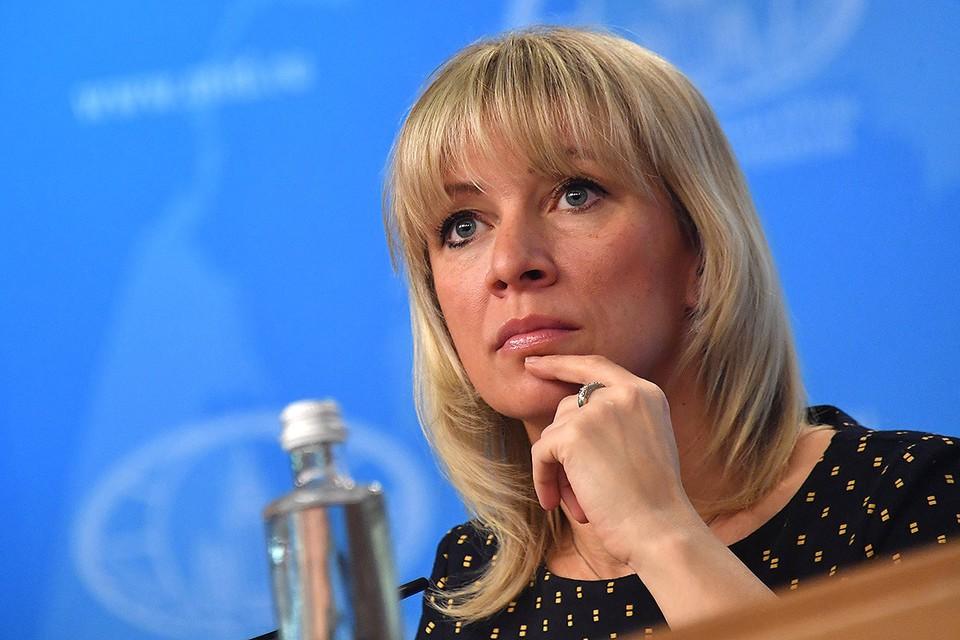 Мария Захарова рассказала об отказе властей США предоставить медпомощь осужденным россиянам