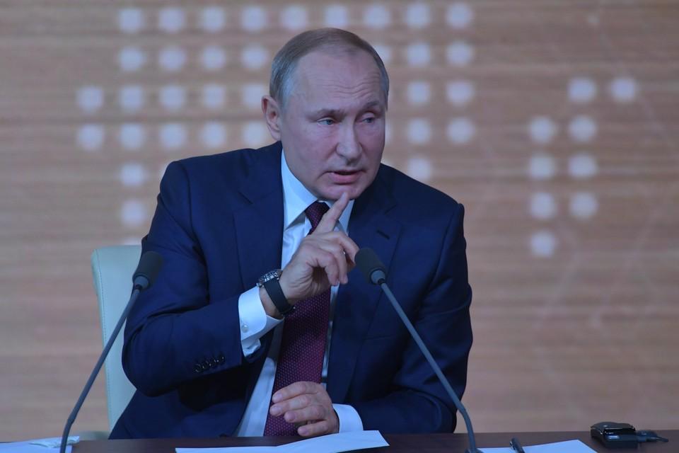 Путин оценил ограничения, применяемые РФ в интернете.