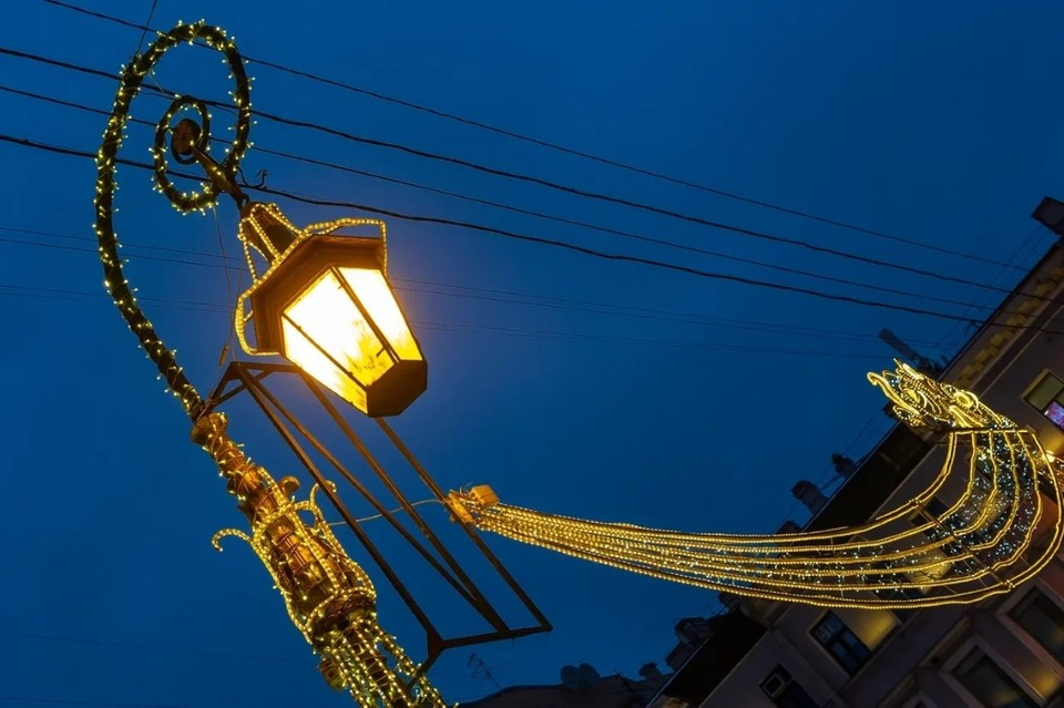 На протяжении трех дней, с 4 по 6 декабря, в центре Санкт-Петербурга будут частично отключать уличное освещение.
