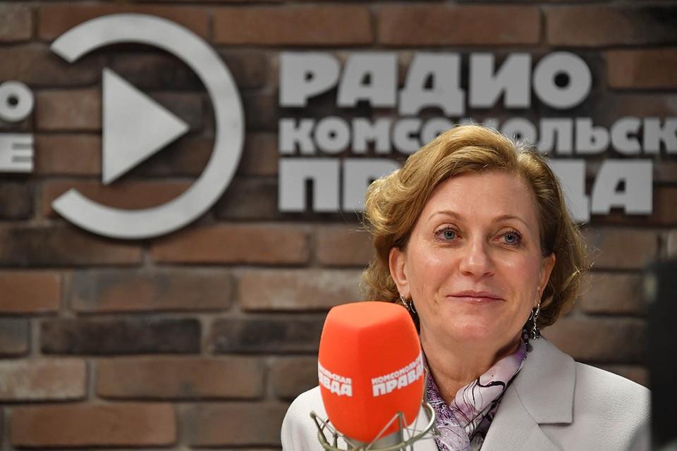 Анна Попова в прямом эфире расскажет, как победить коронавирус