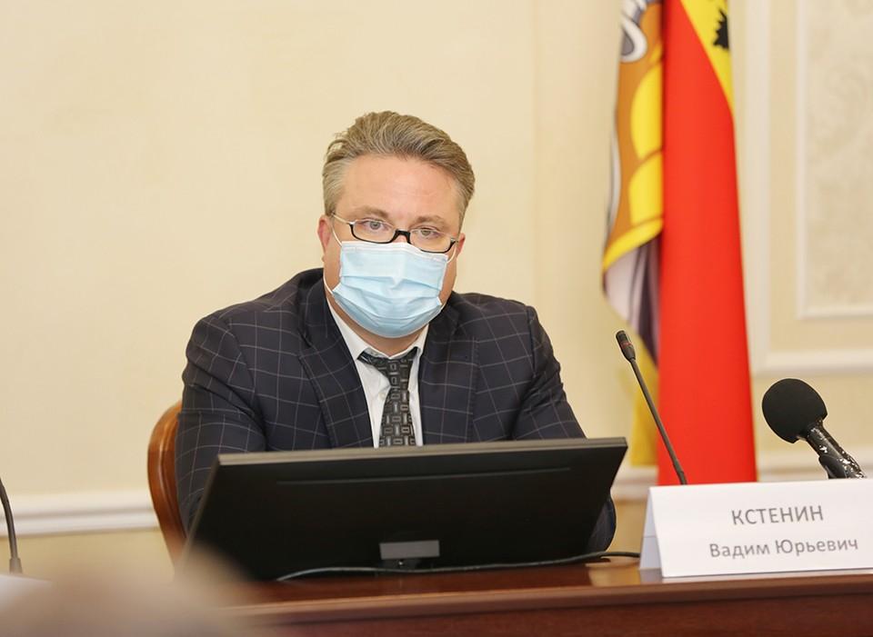 Вадим Кстенин провел еженедельное заседание рабочей группы с руководителями компаний-перевозчиков.
