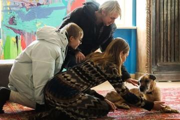 «Мы снова встретились»: Наталья Водянова навестила слепого пса Гомера, которого пристроила в добрые руки