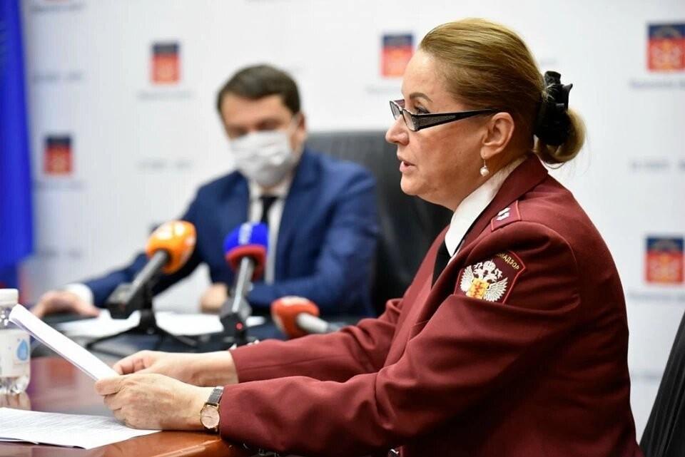 Как отметила глава Роспотребнадзора Мурманской области Лена Лукичева, стабилизировать обстановку удалось за счет Мурманска. Фото: Правительство Мурманской области.