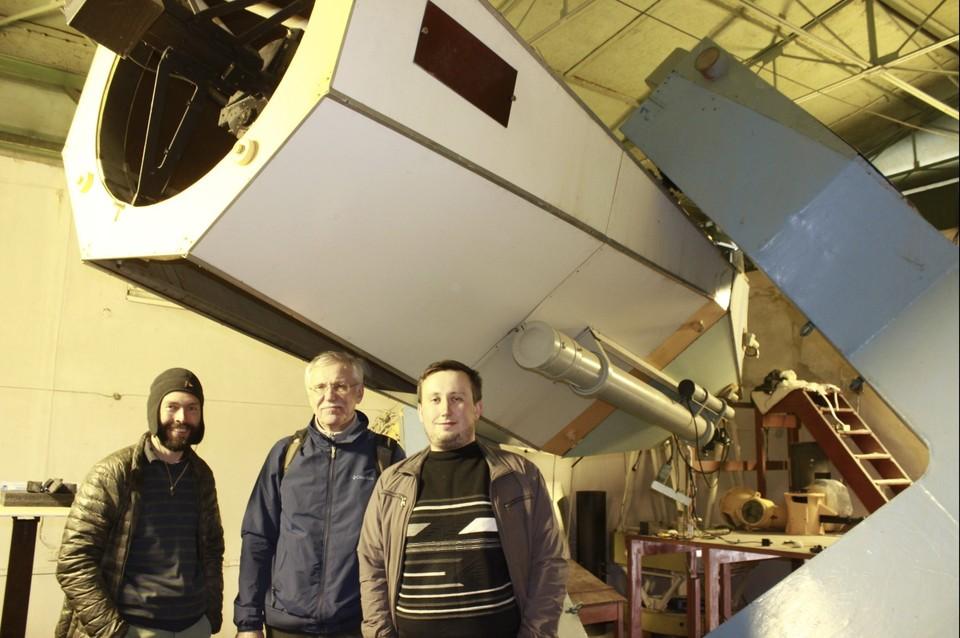 Команда ученых трудится над восстановлением телескопа уже больше 2 лет. Фото: из архива Сергея Назарова