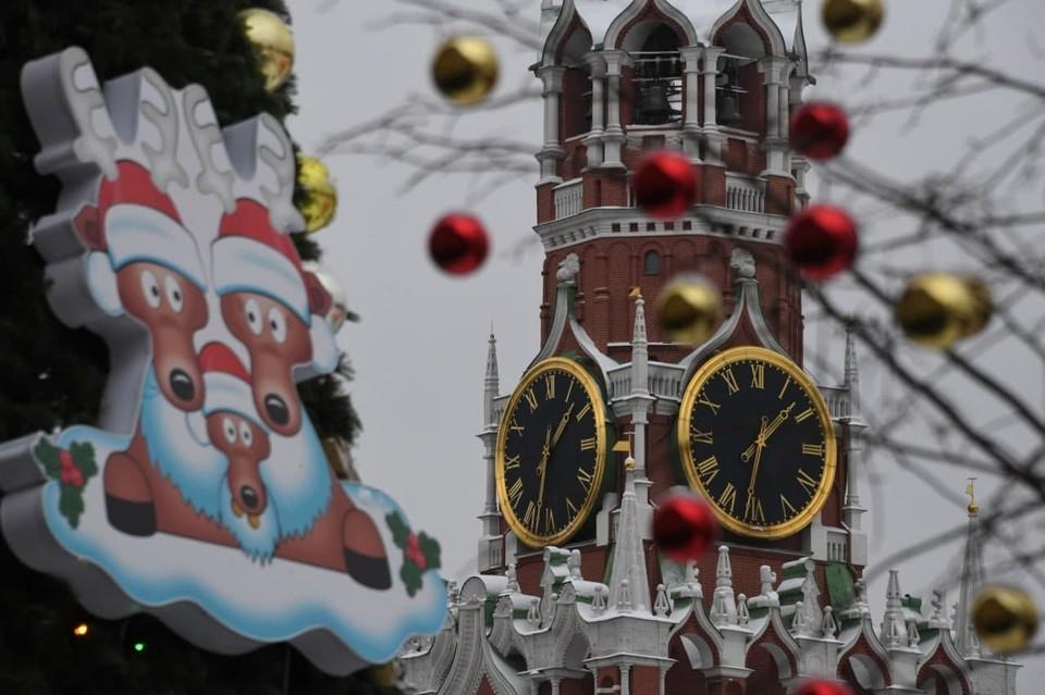 Встречать Новый год волгоградцы будут по Москве.