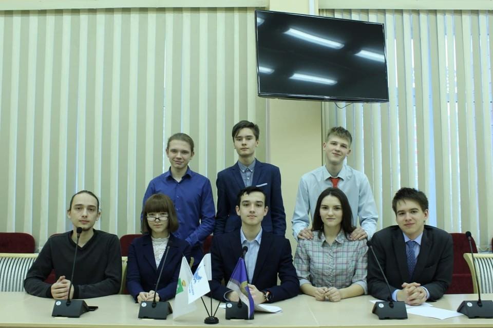Лицеисты на связи с городами РФ на платформе «Гимназического союза России».