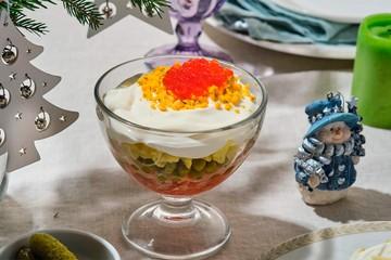 Такого салата оливье вы еще не пробовали: необычно, вкусно, доступно