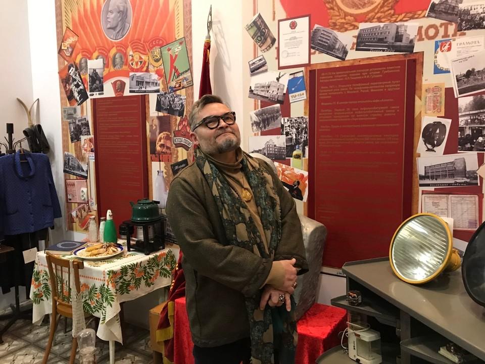 Александр Васильев остался под большим впечатлением, побывав в музее Гусева.