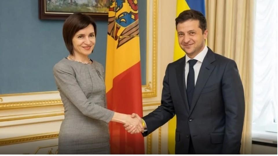 Это будет уже вторая встреча Майи Санду и Владимира Зеленского.