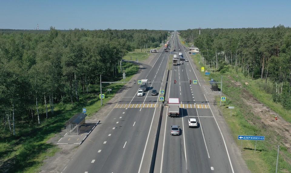 Проезд по трассе станет более безопасным и комфортным. Фото: ФКУ Упрдор Москва – Нижний Новгород