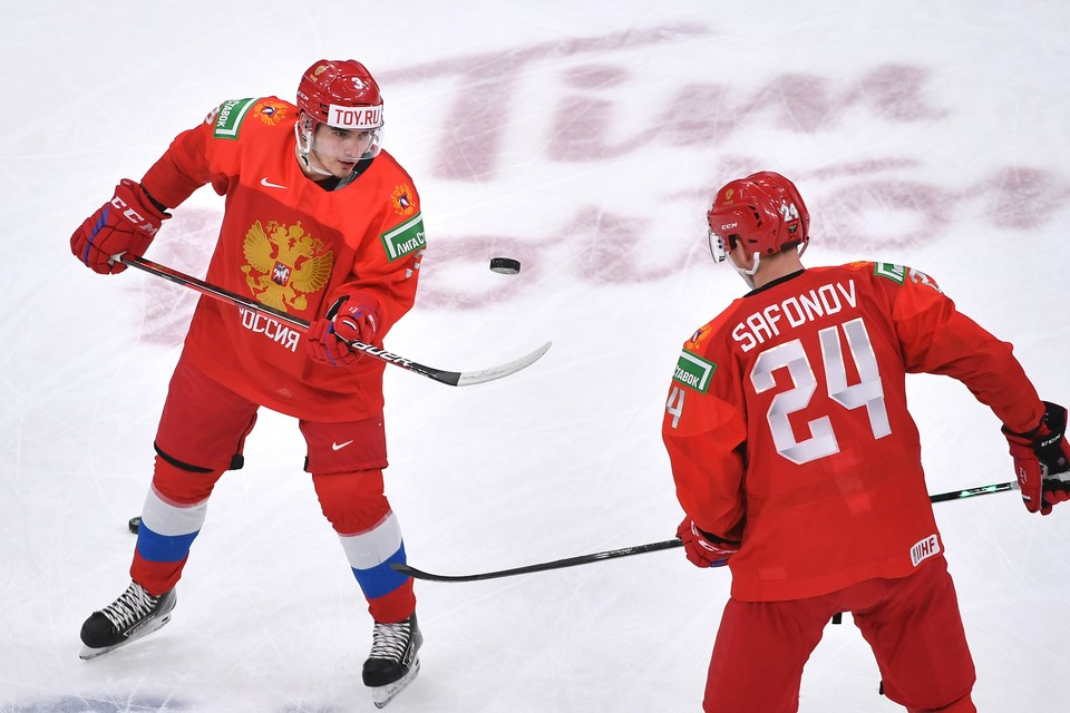 Россия победила команду Германии в четвертьфинале МЧМ-2021.