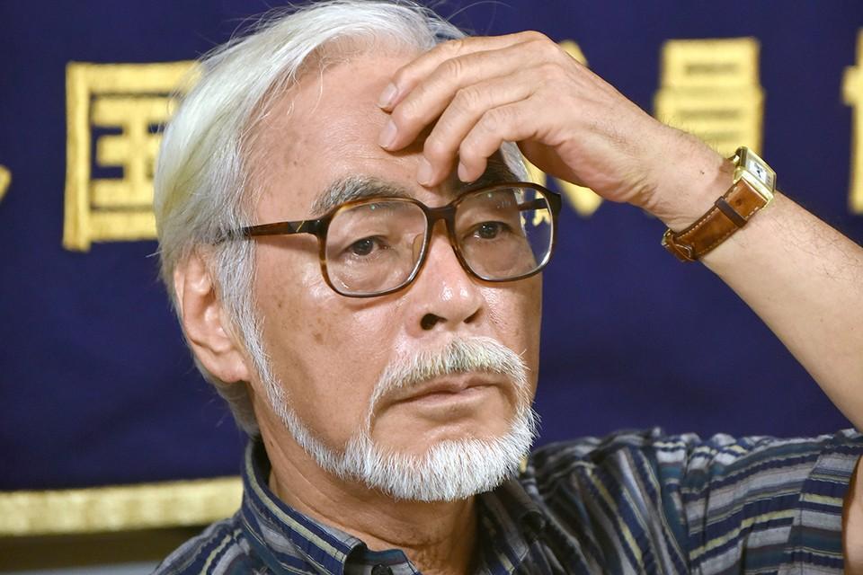 Японский режиссер Хаяо Миядзаки