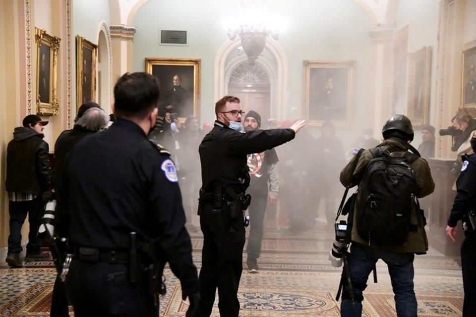 В здании конгресса США произошла стрельба