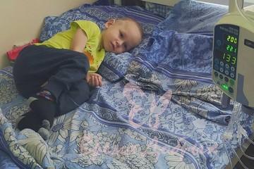 «История большой беды маленького человечка»: 3-летний Леня Шкурко борется со смертельной болезнью