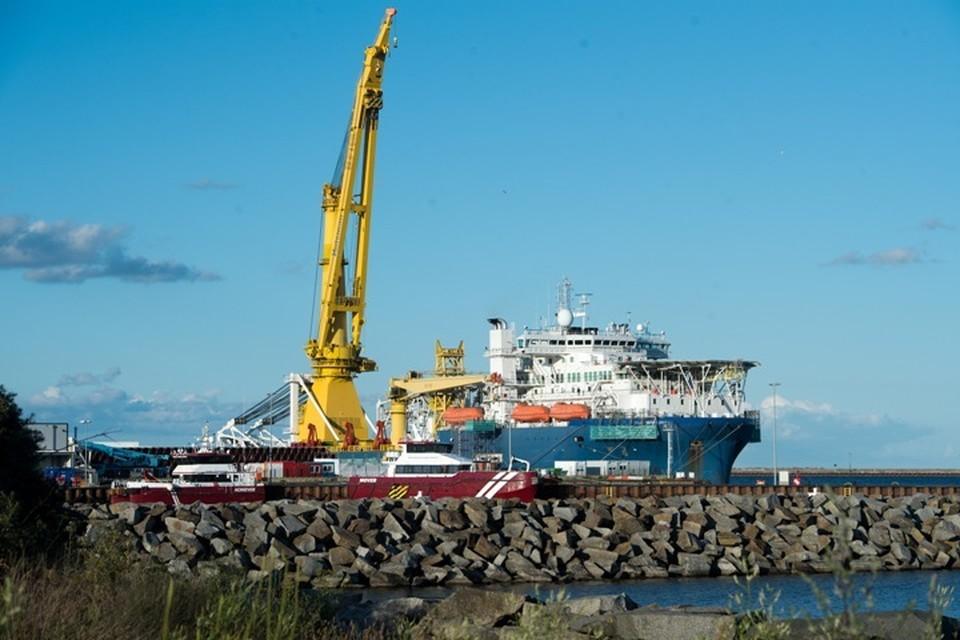 Строительство «Северного потока – 2» в Дании возобновят 15 января
