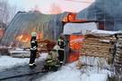 На территории были три сторожа: В Раменском загорелся склад мебельной фабрики