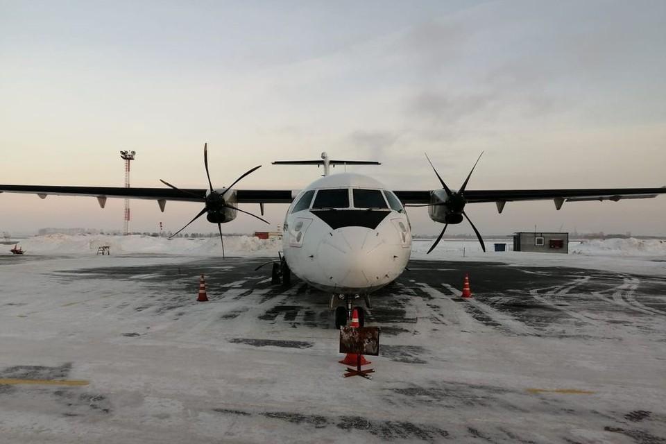 Воздушное судно повреждений не получило. Фото: предоставлено Западно-Сибирским СК на транспорте.