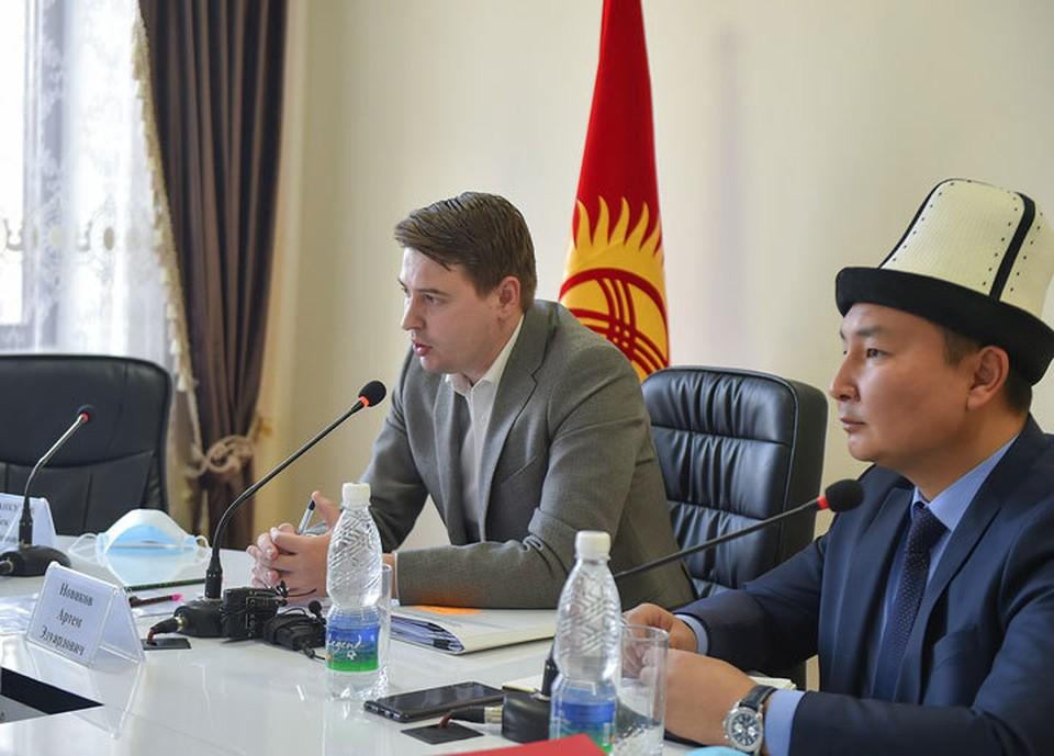 Артем Новиков провел совещание в Таласской области по развитию региона.