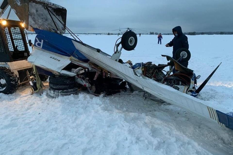 Катастрофа случилась около деревни Ильино. Фото: Северо-Западная транспортная прокуратура