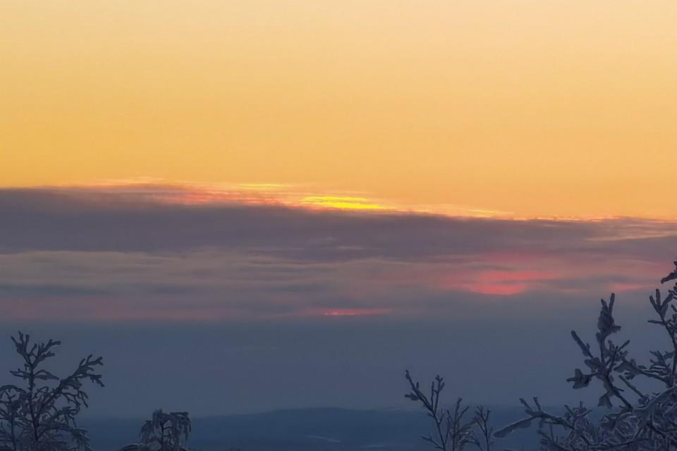 Солнышко покажется на горизонте 11 января. Фото: Виталий Макаров