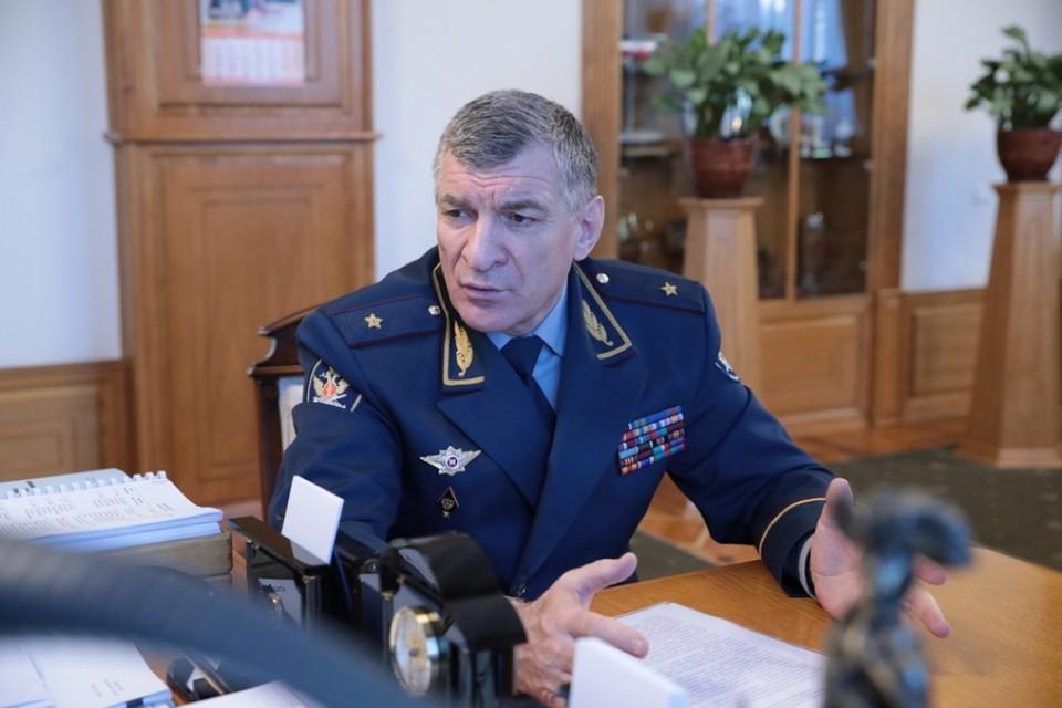 На момент ареста Муслим Даххаев, возглавлял управление ФСИН по Ростовской области. Фото: fsin.gov.ru