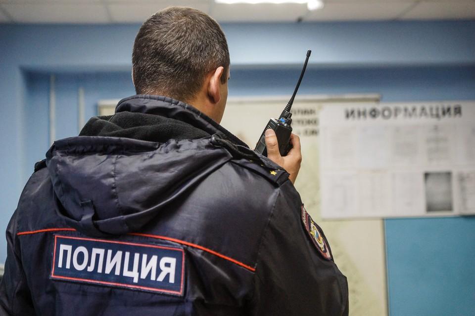 Полицейские разбираются в обстоятельствах происшествия