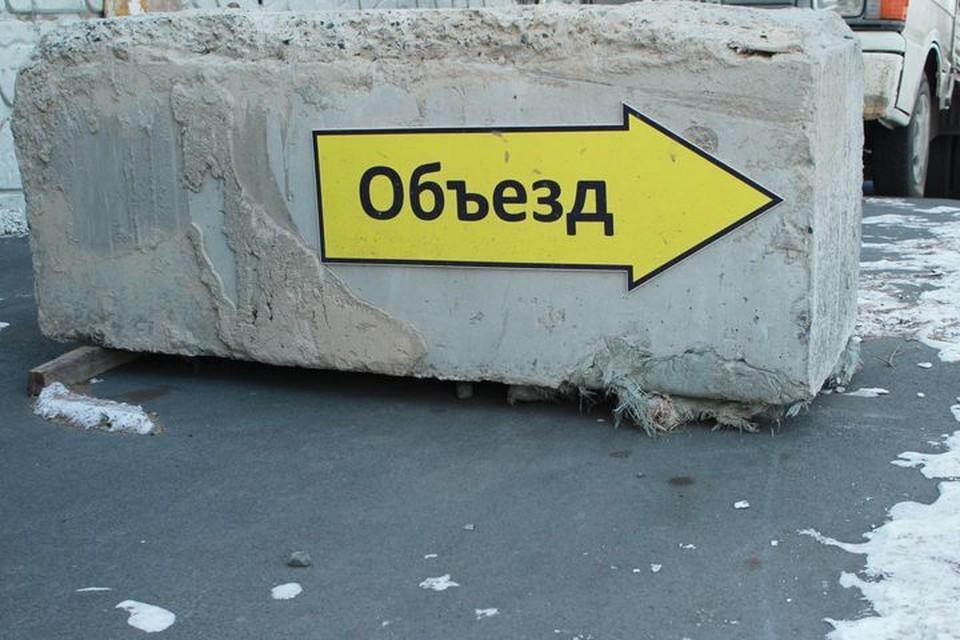 Объездную трассу перекрыли во Владивостоке
