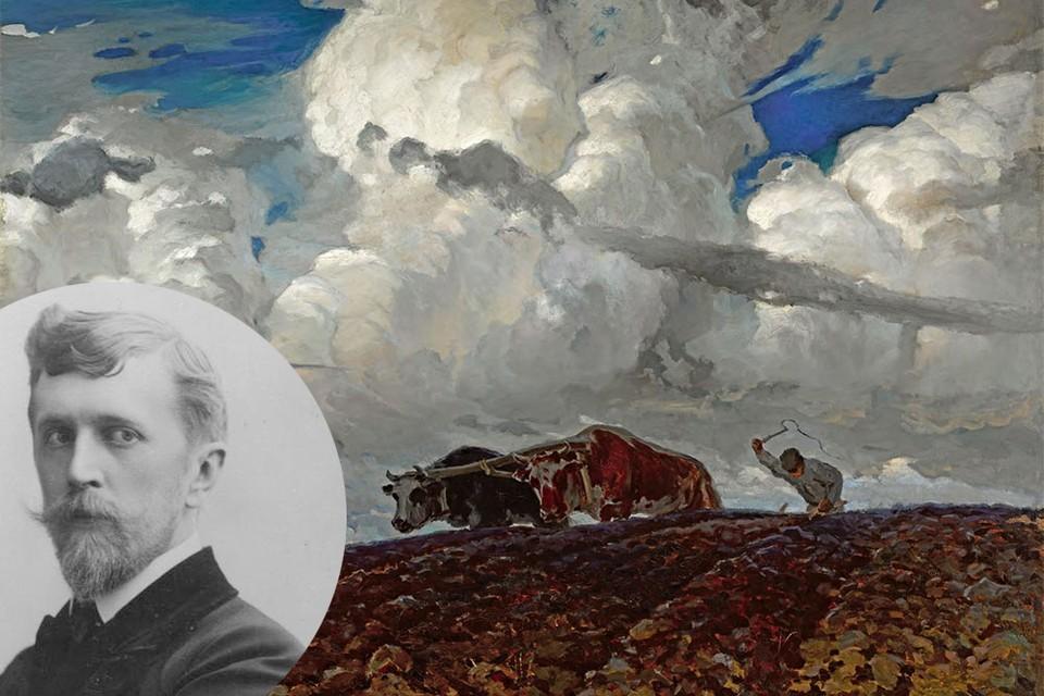 Одна из самых знаменитых картин Фердинанда Рущица «Земля». Фото: wikipedia.org