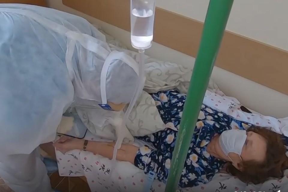 Госпиталь оснастили всем необходимым оборудованием. Фото: Скриншот из видео