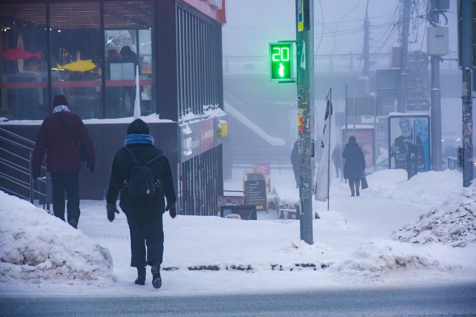 Синоптики обещают морозную и снежную погоду.