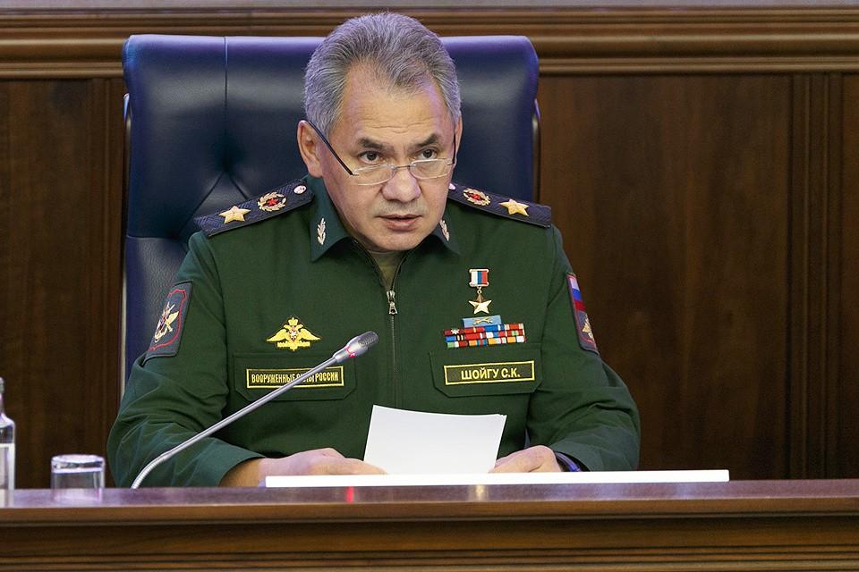 Министр обороны России Сергей Шойгу.